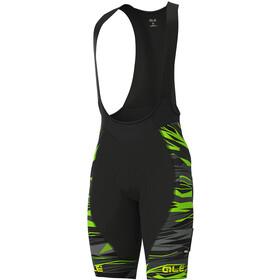 Alé Cycling PRR Rock Bib Shorts Men, black/fluo green